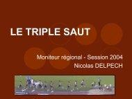 Moniteur régional Triple saut - La preparation physique, préparation ...