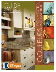 Brochure couleurs - COMPLIS