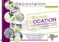 Catalogue LOCATION - DECOVISION