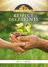 Respect des Parents - Torah-Box.com