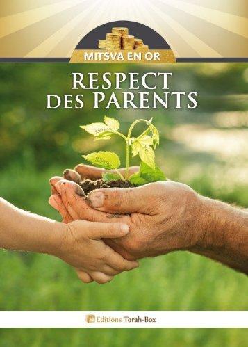 Respect des Parents - Torah-Box.com