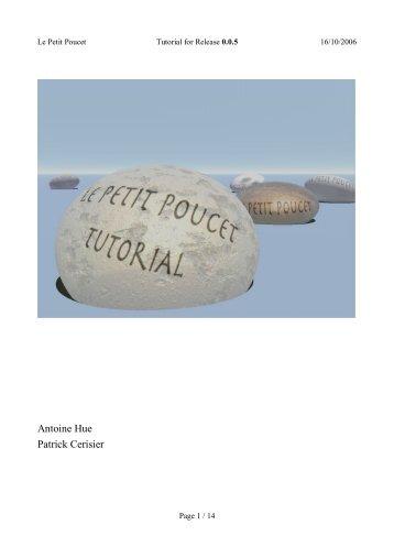 Antoine Hue Patrick Cerisier - Le Petit Poucet GPS Software