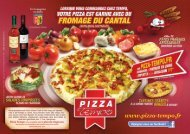 Télécharger la carte - Pizza Tempo
