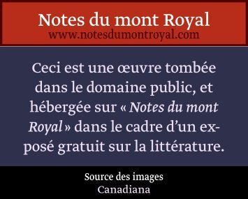 contes arabes - Notes du mont Royal