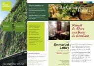 la Petite Cuisine des Halles - Marché des halles d'Avignon