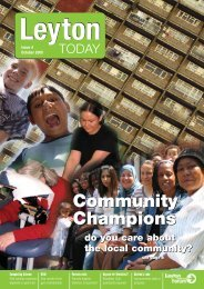 Community Champions Community Champions - Leyton - TownTalk