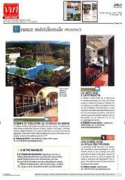 lire l'article… - Château de Saint Martin