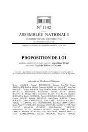 N° 1142 ASSEMBLÉE NATIONALE PROPOSITION DE LOI
