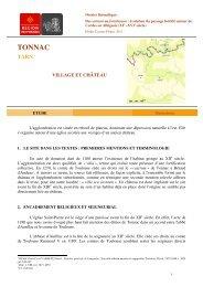 E. Cassan-Pisani, Dossier thématique : Du castrum au fortalicium