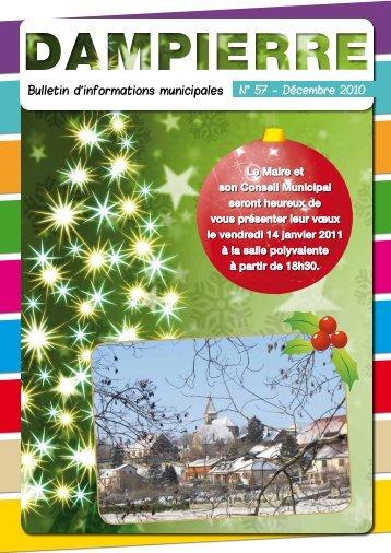 Voir décembre 2010 - Dampierre Jura