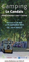 Camping le Candais - Chalonnes-sur-Loire