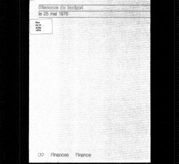 Discours du budget 1976 - budget.gc.ca