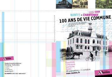 Programme - Archives municipales de Nantes