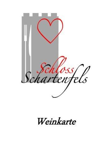 Weinkarte - Restaurant Schloss Schartenfels
