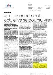 Lire l'article - Cinémathèque suisse