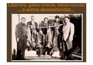 Libernes, gatos-cravos, lobos-cervais e outros ... - Projectos LPN
