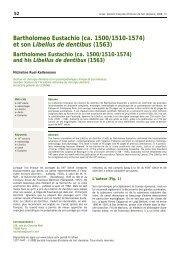 Bartholomeo Eustachio - Bibliothèque interuniversitaire de médecine