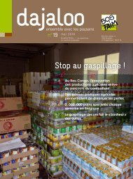 Stop au gaspillage ! - SOS Faim
