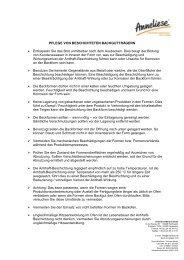 Ein PDF mit wichtigen Tipps und Hinweisen zur - Anneliese Mertes ...