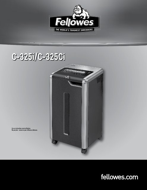 C-325i/C-325Ci - Fellowes