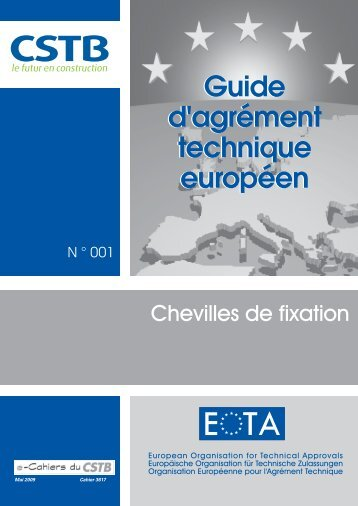 Guide d'ATE n°1 - Chevilles de fixation - CSTB