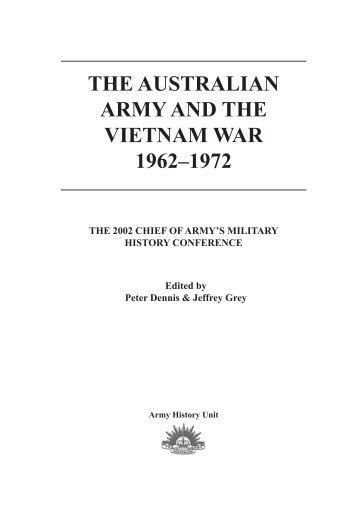 conference proceedings - Australian Army