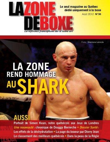 Magazine La Zone de Boxe 8ième année - numéro 36 1