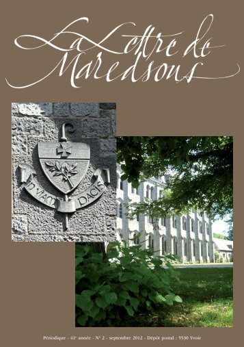 version PDF - Maredsous