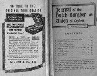 Part 1 - Dutch Burgher Union of Ceylon