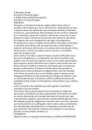 A Ideologia Alemã Karl Marx Friedrich Engels A IDEOLOGIA ALEMÃ ...