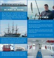 Notre brochure - Visite du port du Havre