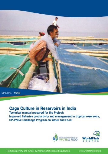 Cage Culture in Reservoirs in India - The World Fish Center