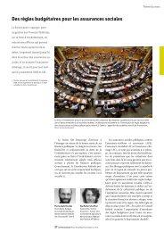 Des règles budgétaires pour les assurances sociales - Die ...