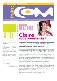 PointCom de mai 2010 - Auto école - Groupe LARGER