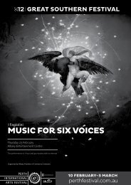 Music for six voices