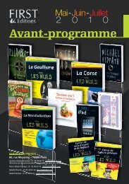 AP First Mai-Juillet 2010 V2.indd - Pour les Nuls