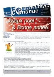 Newsletter – décembre 2011 - Canton de Neuchâtel