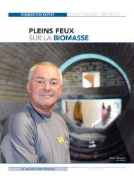 PLEINS FEUX SUR LA BIOMASSE - Combustion Expert inc.