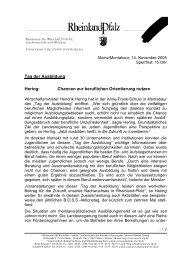 Pressemitteilung des MWVLW 14.11.2008 - Anne-Frank-Realschule ...