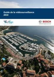 Guide de la Vidéosurveillance - Bosch - Security Systems France