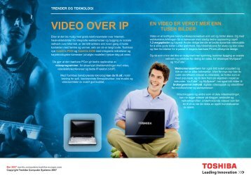 VIDEO OVER IP - Toshiba