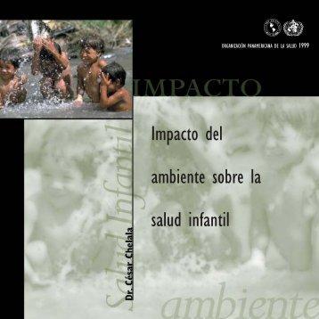 Impacto del medio ambiente sobre la salud infantil - PAHO/WHO