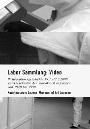 Labor_Sammlung_Videopdf - Kunst + Vermittlung - Hochschule ...