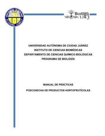 postcosecha de productos hortofruticolas - Universidad Autónoma ...