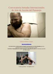 Convocatoria Jornadas Internacionales de Arte de ... - Boek 861