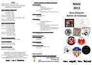 MAIG.pdf - Ajuntament de Bellver de Cerdanya