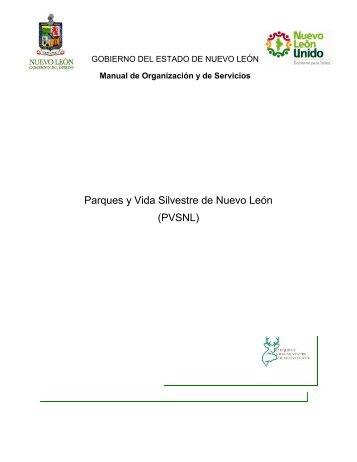 Parques y Vida Silvestre de Nuevo León (PVSNL) - Gobierno del ...