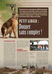 petit gibier : - FDC54