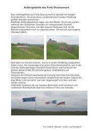 Außengelände des Forts Dounaumont - Anne-Frank-Realschule ...