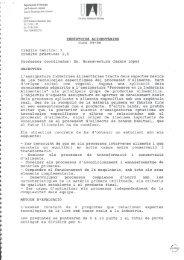 Indústries Alimentàries - DDD – UAB
